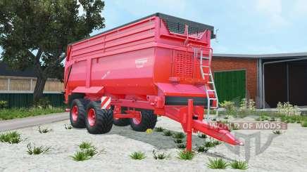 Krampe Bandit 750 pigment red pour Farming Simulator 2015