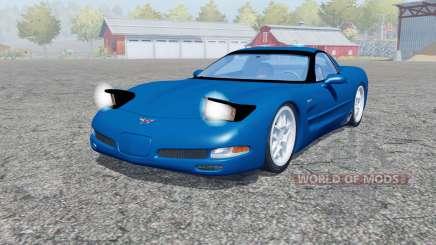 Chevrolet Corvette Z06 (C5) 2001 pour Farming Simulator 2013