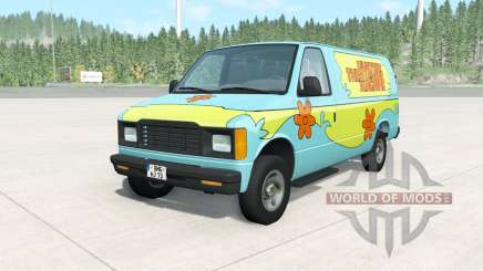 Gavril H-Series The Mystery Machine für BeamNG Drive