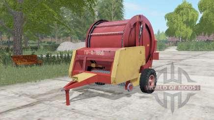 PR-f-180Б modérément couleur rouge pour Farming Simulator 2017