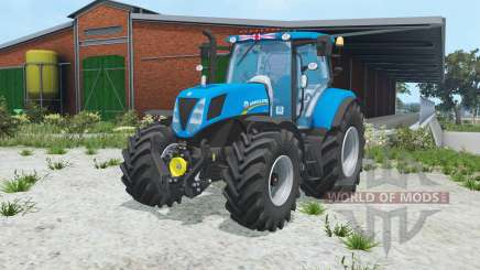 New Holland T7.170 rich electric blue pour Farming Simulator 2015