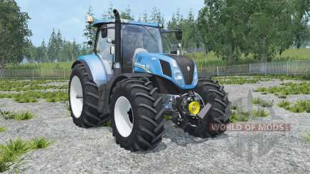 New Holland T7.240 animated cabin pour Farming Simulator 2015