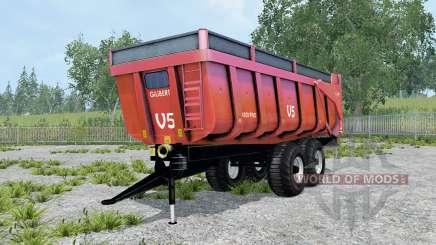 Gilibert 1800 Pro carmine pink für Farming Simulator 2015