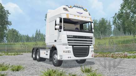 DAF XF105.510 FTT Super Space Cab 2006 für Farming Simulator 2015