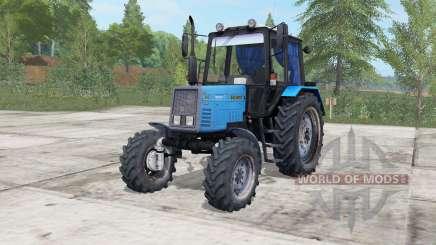 MTZ-892 Biélorussie électrique-couleur bleu pour Farming Simulator 2017