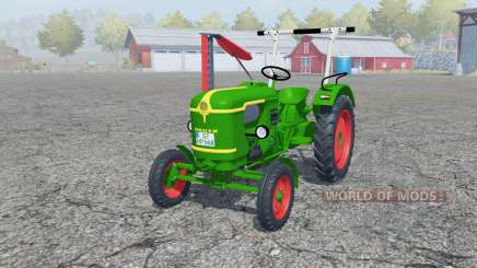 Deutz D 25 with cutter bar pour Farming Simulator 2013