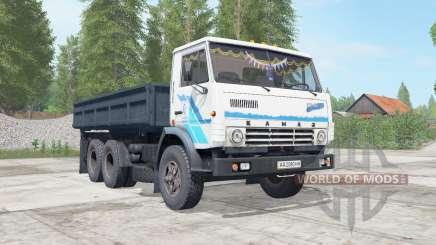KamAZ-5320 sombre ninasimone-corps bleu pour Farming Simulator 2017