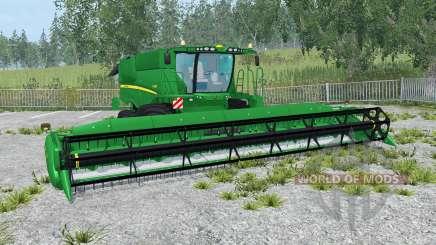 John Deere S690i north texas green pour Farming Simulator 2015