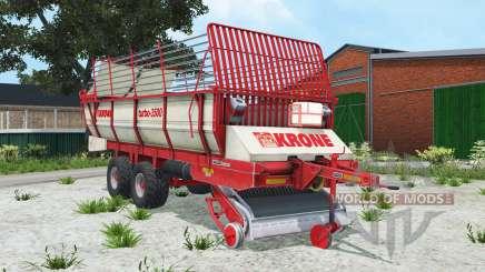 Krone Turbo 3500 alizarin crimson für Farming Simulator 2015