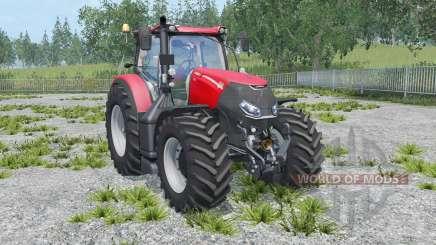 Case IH Optum 300 CVX twin wheels pour Farming Simulator 2015
