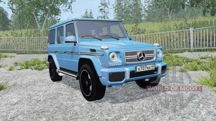 Mercedes-Benz G 65 AMG (W463) process cyan pour Farming Simulator 2015
