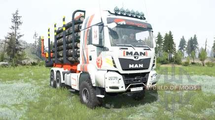 MAN TGS Girteka Logistics pour MudRunner