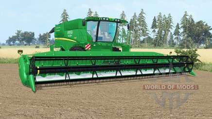 John Deere S690i pantone gᶉeen pour Farming Simulator 2015