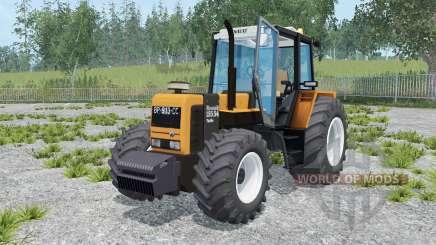 Renault 155.54 TX neon carrot pour Farming Simulator 2015