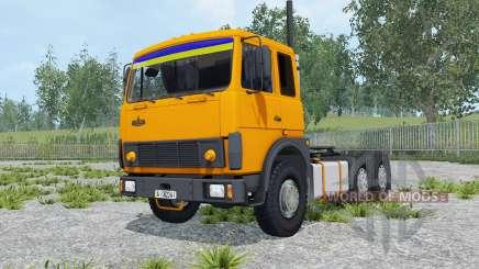 MAZ-6422 Farbe orange für Farming Simulator 2015