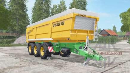 Joskin Trans-Space 8000-27 für Farming Simulator 2017