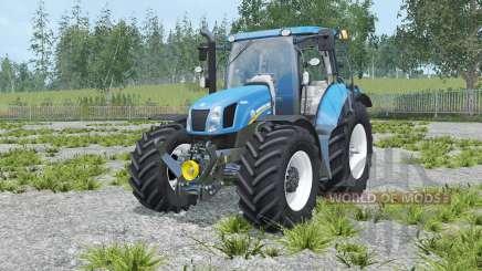 New Holland T6.160 rich electric blue für Farming Simulator 2015