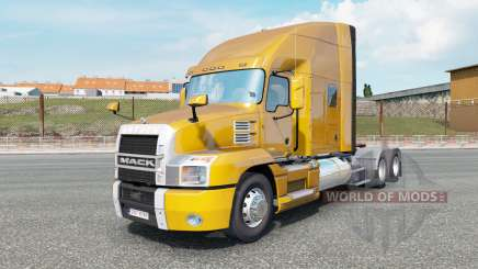 Mack Anthem Stand Up Sleeper Cab dark pear pour Euro Truck Simulator 2