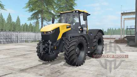 JCB Fastrac 8330 deep lemon für Farming Simulator 2017