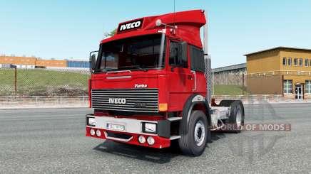 Iveco-Fiat 190-38 Turbo Special vivid red pour Euro Truck Simulator 2