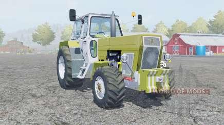 Fortschritt ZT 303 green smoke für Farming Simulator 2013