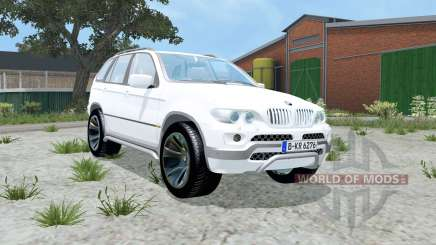 BMW X5 4.8is (E53) 2004 für Farming Simulator 2015