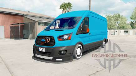 Ford Transit Jumbo Van für American Truck Simulator