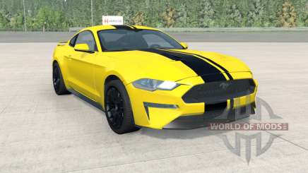 Ford Mustang EcoBoost Performance 2018 pour BeamNG Drive