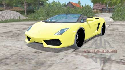 Lamborghini Gallardo LP 560-4 Spyder 2012 pour Farming Simulator 2017