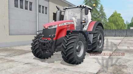 Massey Ferguson 8727-8740S pour Farming Simulator 2017