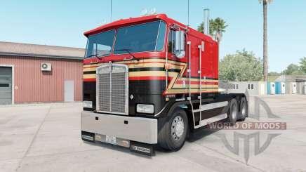 Kenworth K100E pigment red für American Truck Simulator