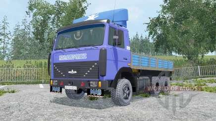 MAZ-6303 abnehmbare Module für Farming Simulator 2015