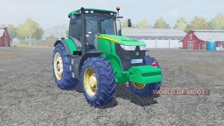 John Deere 7280R caribbean green für Farming Simulator 2013
