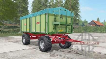 Rudolph DK 280 R olivine pour Farming Simulator 2017