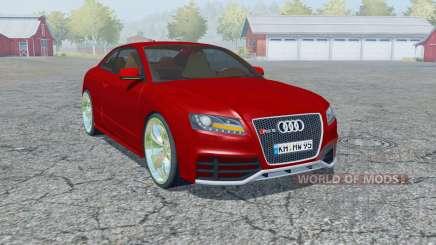 Audi RS 5 coupe 2010 pour Farming Simulator 2013