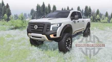 Nissan Titan Warrior concept 2016 für Spin Tires
