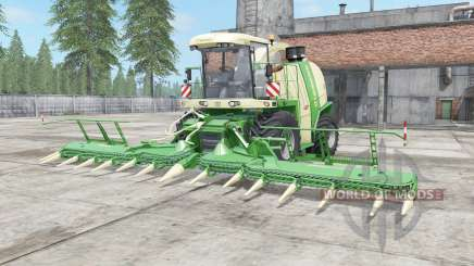 Krone BiG X 1100 chateau green pour Farming Simulator 2017