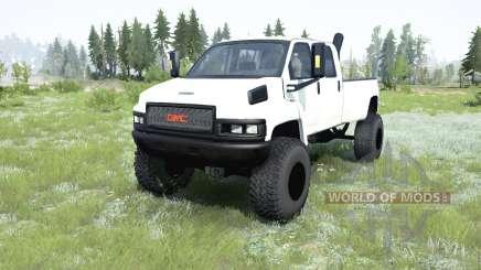 GMC TopKick C4500 Crew Cab pickup 2006 pour MudRunner