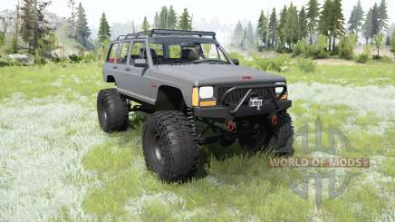 Jeep Cherokee (XJ) 1987 crawler pour MudRunner