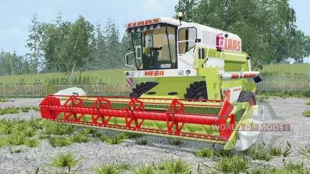 Claas Dominator 218 Mega für Farming Simulator 2015