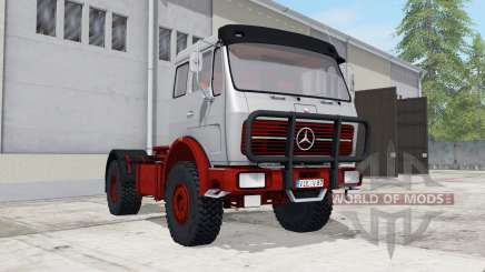 Mercedes-Benz NG 1632 with tipper trailer pour Farming Simulator 2017