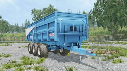 Maupu TDM picton blue pour Farming Simulator 2015