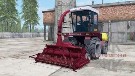 Palesse 2U250A sombre modéré couleur rouge pour Farming Simulator 2017