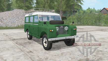 Land Rover 109 Station Wagon 1965 pour Farming Simulator 2017