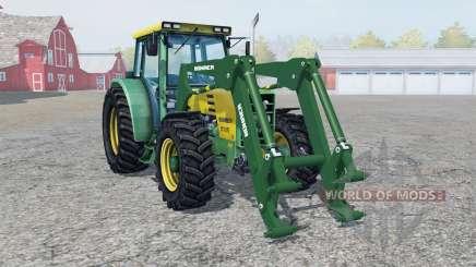 Buhrer 6135 Un front loadeᶉ pour Farming Simulator 2013