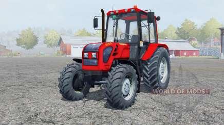 MTZ-Biélorussie 1025.4 pour Farming Simulator 2013