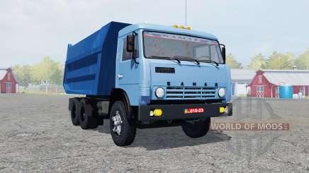 KamAZ-55111 mäßig Farbe blau für Farming Simulator 2013