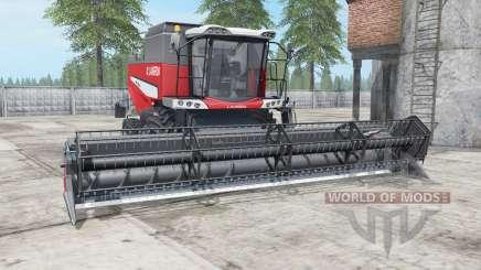 Laverda M300 deep carmine pink für Farming Simulator 2017