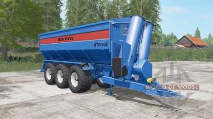 Bergmann GTW 430 lochmara für Farming Simulator 2017