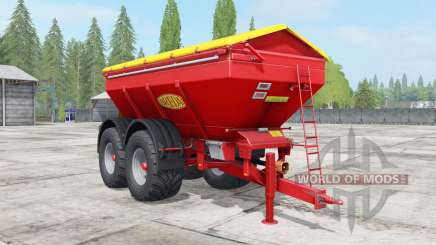 Bredal K165 narrow wheels pour Farming Simulator 2017